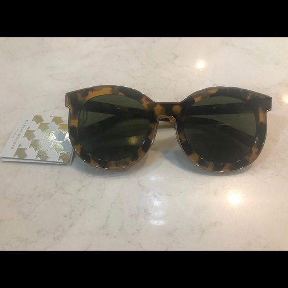 e7bc5586b0ad Karen Walker Spaceship Sunglasses NWT